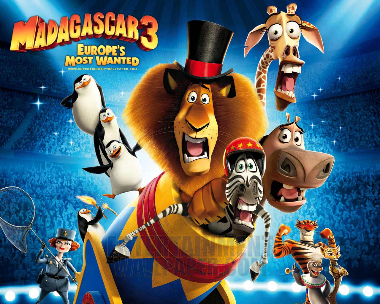 Bosco's word: madagascar 3: europe's most wanted